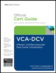 VCA-DCV Official Cert Guide: VMware Certified Associate - Data Center Virtualization, 1/e (eBook)