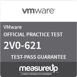VMware Certified Professional 6 - Data Center Virtualization (2V0-621)  Practice Exam