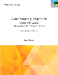 Automating vSphere with VMware vCenter Orchestrator (eBook)