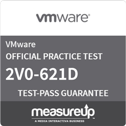 VMware Certified Professional 6 - Data Center Virtualization Delta (2V0-621D) Online Practice Exam